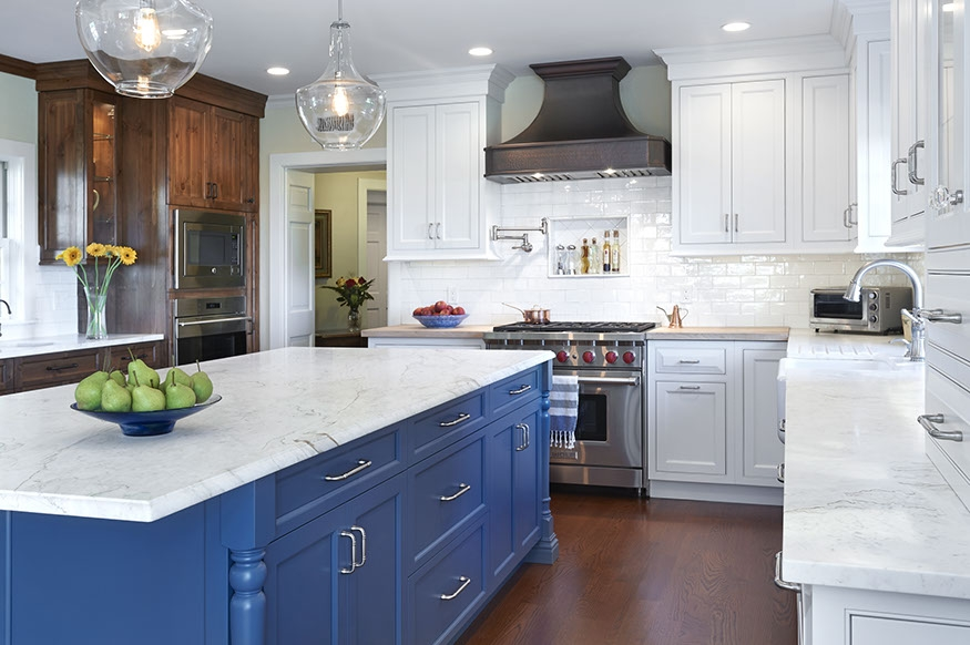Calacatta Lincoln Island Absolute Kitchen Granite