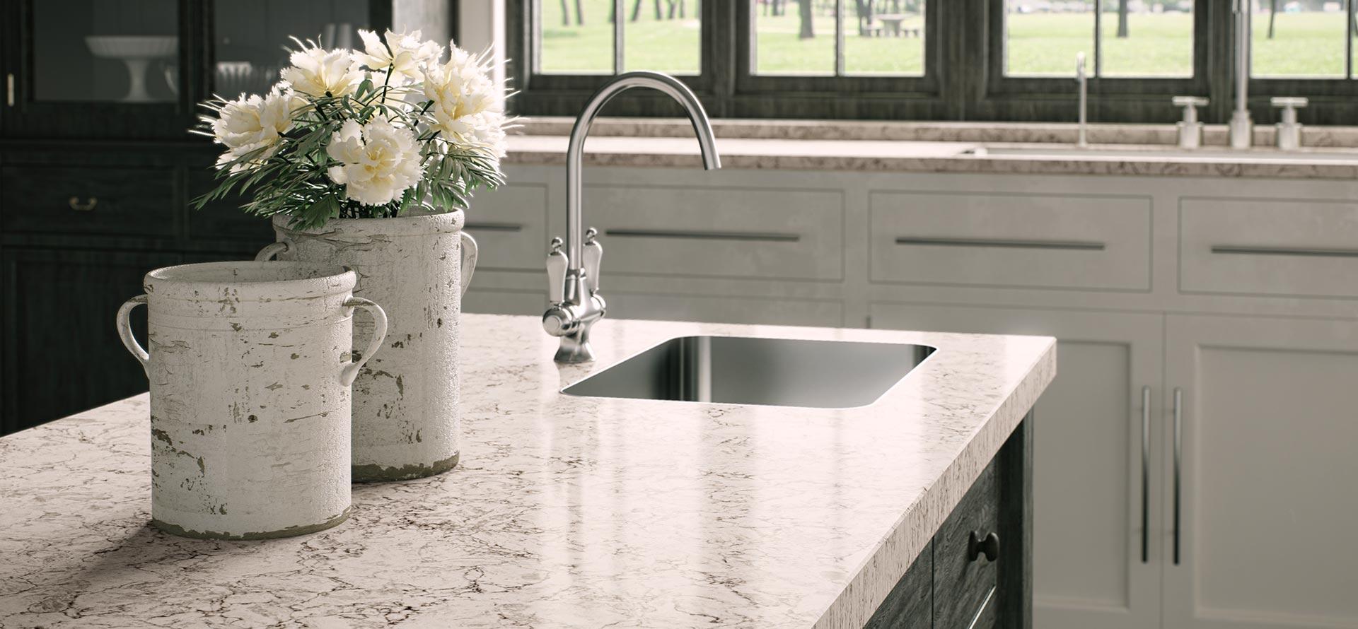 Limestone Kitchen Backsplash 6046 Moorland Fog Absolute Kitchen Amp Granite