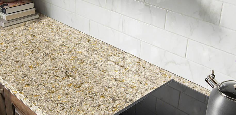 Chantilly Taupe Quartz Absolute Kitchen Amp Granite