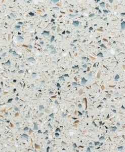 sky pearl, IceStone, recycled glass