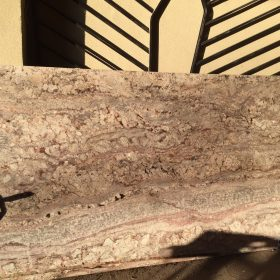 Typhoon Bordeaux, Exotic Granite, remnants