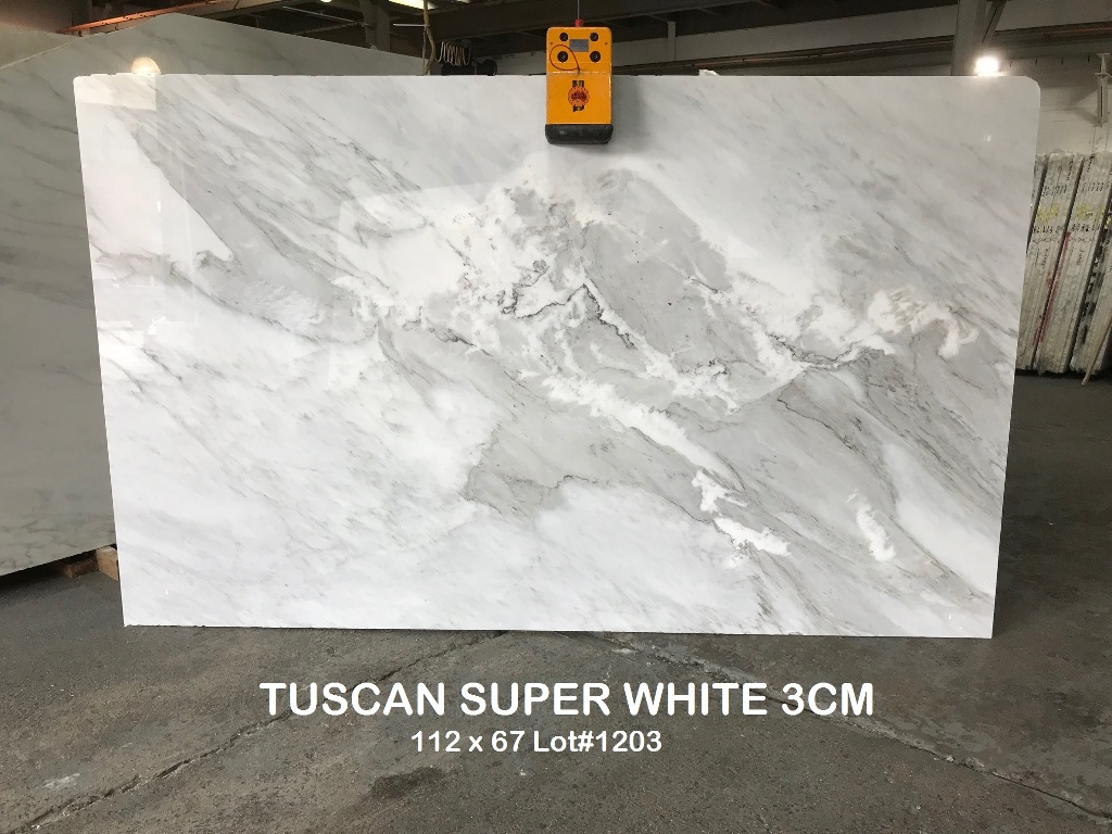 Tuscan Super White Absolute Kitchen