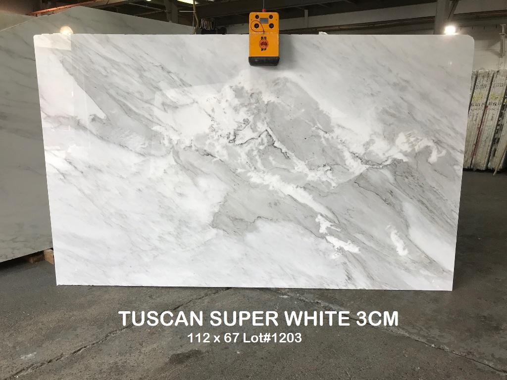Tuscan Super White Absolute Kitchen Granite